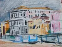 Antoine Chartres / Bateaux à Venise