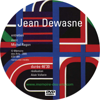 DVD Jean Dewasne