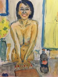Gilles Pascal-Roux / La Fille au Coca