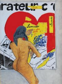 Pierre Lutrin / Devant l'affiche